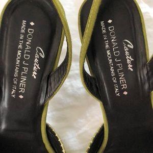 Donald J. Pliner Shoes - DONALD PLINER Peep toe heels